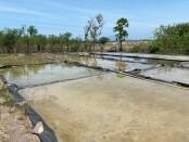 Tambak garam di Desa Pejarakan, Buleleng - foto: Istimewa