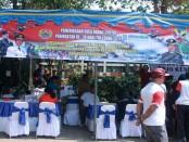 HUT TNI ke-70 di Kota Denpasar dimeriahkan dengan pameran batu akik - foto: Koranjuri.com