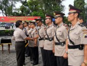 Upacara Sertijab tujuh Perwira Polres Purworejo - foto: Sujono