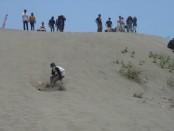 Gumuk pasir di kawasan wisata Parangtritis memang tidak hanya menarik untuk obyek penelitian serta wisata edukasi - Foto: Lanjar Artama