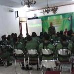 Suasana pelatihan anggota Linmas di Hotel Ganesha - foto: Sujono