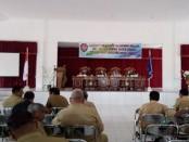 Rapat Pamong Praja se-Kabupaten rote Ndao - foto: Isak Doris Faot