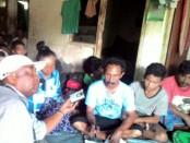 Buruh pekerja di proyek proyek Pembangunan Pengembangan Air Baku Mata Air Sanih diadvokasi LSM Gema Nusantara