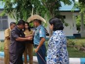 Komandan Lantamal VII Kupang, Brigadir Jenderal TNI (Mar) Siswoyo Hari S. - foto: Isak Doris Faot