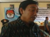 Ketua KPU Bali, Dewa Kade Wiarsa Raka Sandhi - foto: Wahyu Siswadi/Koranjuri.com