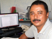 Ketua BPC Gapensi Purworejo, Heru Budi Utomo - foto: Sujono/Koranjuri.com
