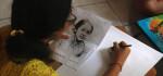 Ratusan Siswa Ikuti Lomba Lukis Wajah RA Kartini