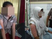 Korban penyiletan oleh orang misterius yang terjadi di Yogyakarta - foto: ist/Koranjuri.com