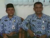 Kepala Dinsosnakertrans Kabupaten Purworejo, Drs Sutrisno, MSi, didampingi Pracoyo, Ketua Panitia Job Fair 2016 - foto: Sujono/Koranjuri.com