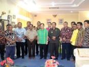 Pertemuan antara Kepala Kantor Wilayah Kementerian Agama  (Kakanwil) Nusa Tenggara Timur (NTT), Sarman Marselinus bersama jajaran Pemkab Rote Ndao - foto: Isak Doris Faot/Koranjuri.com