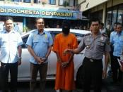 HS alias Seni, pelaku pencurian mobil yang ditangkap tim Buser Polresta Denpasar di Jember, Jawa Timur - foto: Suyanto/Koranjuri.com