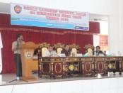 RAPAT lengkap Pamong Praja I se-Kabupaten Rote Ndao merupakan salah satu media untuk sharing informasi terkait penyelenggaran pemerintahan, pelaksanaan pembangunan, pelayanan kemasyarakatan dan pemberdayaan masyarakat - foto: Isak Doris Faot/Koranjur.com