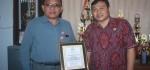 mPLS di SMA Negeri 2 Tabanan Dapat Penghargaan dari DPD RI