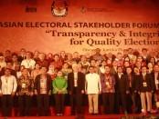 Komisi Pemilihan Umum (KPU) RI mendapat kepercayaan menyelenggarakan Asian Electoral Stakeholder Forum (AESF) III di Bali, 22-26 Agustus 2016 - foto: Wahyu Siswadi/Koranjuri.com
