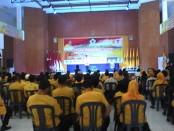 Suasana Musda IX Partai Golkar DPD Kabupaten Purworejo di gedung kesenian Sarwo Edi Wibowo, Rabu (10/8) – foto: Sujono/Koranjuri.com