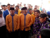 Pasangan calon Walikota Yogyakarta Haryadi Suyuti-Heroe Purwadi menjalani tahapan pemeriksaan kesehatan - foto: Lanjar Artama/Koranjuri.com