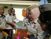 Kepala Kantor Wilayah BPN Provinsi Bali, Fatimah Saleh pada peringatan Hari Ulang Tahun Undang-Undang Pokok Agraria (UUPA) ke 56 dan Hari Agraria dan Tata Ruang Nasional (HANTURA), Sabtu, 24 September 2016 - foto: Suyanto