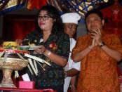 Peresmian program Budaya Literasi di SMA Negeri 7 Denpasar dilakukan oleh Walikota Denpasar, Ida Bagus Rai Dharmawijaya Mantra. Peresmian tersebut sekaligus bersamaan dengan puncak perayaan HUT ke-27 SMA Negeri 7 Denpasar - foto: Koranjuri.com