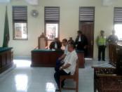Sidang putusan terhadap tiga terdakwa dalam peristiwa bentrok Teuku Umar di PN Denpasar, Selasa, 13 September 2016 - foto: Istimewa