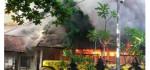 Si Jago Merah Meluluhlantakkan Gudang Milik Dinas PU Denpasar