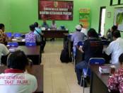 Keterangan pers pelaksanaan Hari Pangan Sedunia (HPS) ke-36 di Kabupaten Wonogiri - foto: Koranjuri.com