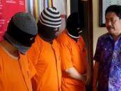 3 orang pengecer Narkoba yang diamankan rim Resnarkoba Polresta Denpasar - foto: Istimewa