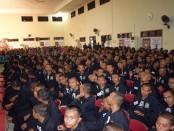 Calon-calon pendekar Persaudaraan Setia Hati (SH) Terate Cabang Karanganyar, Jawa Tengah yang dilantik pada Sabtu, 15 Oktober 2016 - foto: Meddia/Koranjuri.com