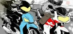 Polisi Beraksi Sikat Geng Motor di Denpasar