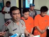 Pelaku jambret dan penganiayaan diamankan Kepolisian Sektor Kuta - foto: Istimewa
