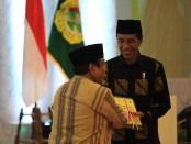 Presiden Joko Widodo menghadiri Musyarawah Nasional ( Munas ) LDII VIII yang berlangsung selama tiga, 8-10 November 2016,  di Balai Kartini Jakarta - foto: Lanjar Artama/Koranjuri.com