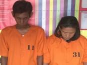 Dua pengedar narkoba yang diamankan Satuan Reserse Narkoba Polresta Denpasar - foto: Istimewa