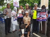 Kegiatan Satlantas Polres Kebumen dalam kegiatan preemtif menggalakkan Saber Lanting (Sadar Berlalu lintas Itu Penting) – foto: Sujono/Koranjuri.com