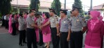 84 Polisi di Kebumen Mendapatkan Kenaikan Pangkat