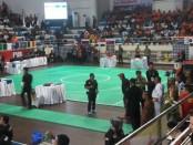 Acara penutupan Pencak Silat for The World: The 17th World Championship and Festival di GOR Lila Bhuana, Denpasar, Kamis, 8 Desember 2016 - foto: Istimewa