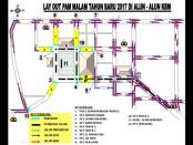 Rute pengalihan jalur di acara mlm tahun baru di Kebumen, Jawa Tengah - foto: Istimewa