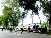 Operasi gabungan Polres Purworejo, Senin (23/1), dalam rangka cipta kondisi, pasca kaburnya 2 napi dari LP Batu, Nusakambangan, Cilacap - foto: Sujono/Koranjuri.com