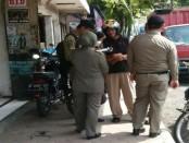 Razia yang dilakukan Satpol PP Damkar Purworejo untuk pegawai yang keluyuran di jam kerja - foto: Sujono/Koranjuri.com