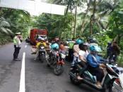 Untuk tekan lakalantas, Satlantas Polres Kebumen gencar melakukan razia kendaraan - foto: Sujono/Koranjuri.com