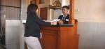 UKK di SMK PGRI 3 Denpasar Ujikan Materi Set up Menu, Make Up Room dan Walk in Guest