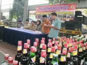 Pertaubatan Sugeng Riyadi di Mapolres Kebumen, Kamis (23/3) - foto: Sujono/Koranjuri.com