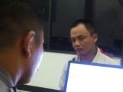 AZ, residivis yang menganiaya polwan Polsek Kebumen saat diperiksa polisi