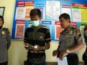 Eko, pengamen yang membobol warung kelontong milik Suparno di Purwodadi - foto: Sujono/Koranjuri.com