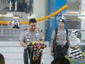 Kapolda Bali, Irjen Pol Petrus Reinhard Golose meresmikan Gedung Satpas dan Uji Praktik SIM di Polresta Denpasar, Jumat, 17 Maret 2017 - foto: Suyanto