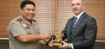 Kepolisian Australia Sambangi Polda Bali Bahas Kerjasama Operasi Narkotika