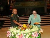 Peringatan Hari Ulang Tahun ke-71 Persit Kartika Chandra Kirana di Aula Udayana Makodam IX/Udayana, Jumat, 7 April 2017 - foto: Istimewa
