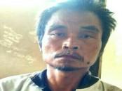 Tersangka penganiayaan, SM, kini diamankan di Mapolsek Karanganyar, Kebumen - foto: Sujono/Koranjuri.com