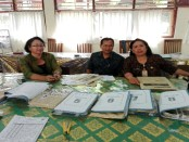 Tim pengawas dari Dinas Pendidikan Pemuda dan Olahraga Kota Denpasar - foto: Wahyu Siswadi/Koranjuri.com