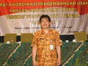 Agus dari Dinas Ketahanan Pangan Provinsi Jawa Tengah  foto: Agus Mitra/Koranjuri.com