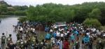 Ratusan Siswa Hijaukan Mangrove di Pulau Serangan