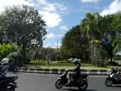 Taman Ngurah Rai yang bakal dilewati Underpass Simpang Ngurah Rai - foto: Wahyu Siswadi/Koranjuri.com